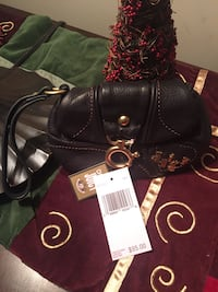 Brand New Black Leather Juicy Couture Wristlet Loveland, 45140