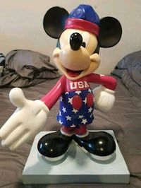 Mickey Mouse InspEARations 75th Anniversary Statue New Rochelle