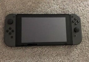 Nintendo switch gray with 3 games
