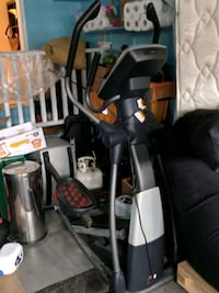 black and gray elliptical trainer Mississauga, L5S