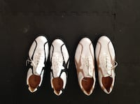 two pairs of leather golf shoes JACKSON