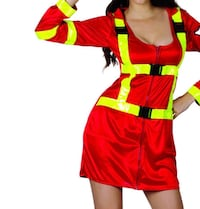 HALLOWEEN FIREFIGHTER DRESS COSTUME Surrey, V3R 6W7
