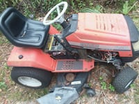 red and black ride on mower Silver Springs, 34488