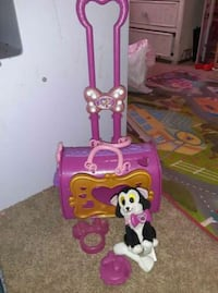 Minnie mouse soccorro pet traveling toy