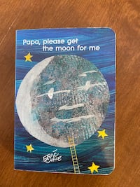 """Board book """"Papa, please get the moon for me"""" Raymond, 03077"""