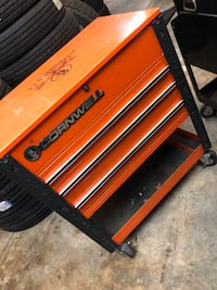"""Orange Cornwell"" tool box  New Orleans, 70119"