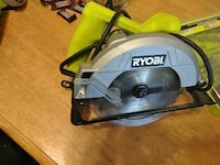 yellow and grey Ryobi corded circular saw Urbana, 43078