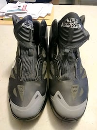 pair of black-and-gray Nike basketball shoes Eugene, 97401