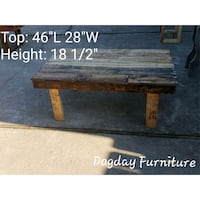 Rustic Pallet Coffee Table  Portsmouth, 23702