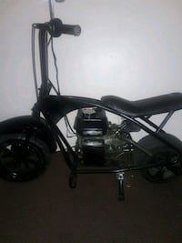 black and gray chopper motorcycle Detroit, 48210