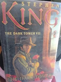 The Dark Tower by Stephen King book Aztec