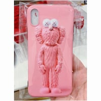 PRICE IS FIRM, PICKUP ONLY - Pink Kaws iPhone X Phone Case  Toronto, M4B 2T2