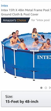 Intex pool, sand filter, floats, solar cover, chemicals, ladder w/gate. Many extras. Used one season. 200.00 takes all. Pick up only. Keyport, 07735