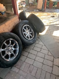 "17"" 6 lug Chevy rims"