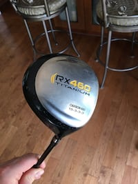 Alpha RX460 Carbon Golf Driver Right Hand