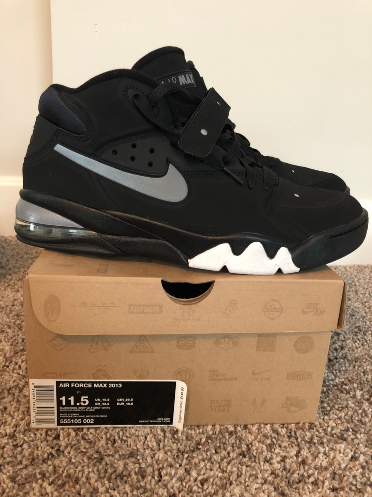 Men's Nike Air Force Max 2013 Fab 5 Shoe size 11.5