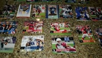 assorted football player trading cards Alexandria, 22315