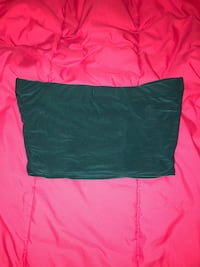 Women's green tube top Fort Washington, 20744