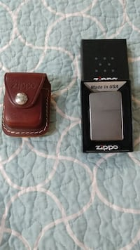 Zippo lighter and case
