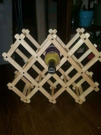 Foldable Wooden Wine Rack Mississauga, L5J 2K2