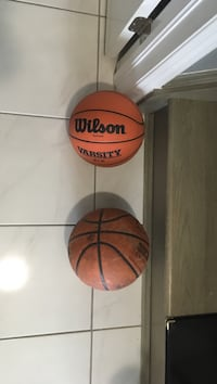 Youth size basketball. One good condition second worn out. Both for 5$ Milton, L9T 8S3