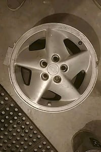 gray 5-spoke car wheel Edmonton, T6X 0H4