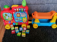 Vtech ride on baby toddler push train  Victorville, 92392
