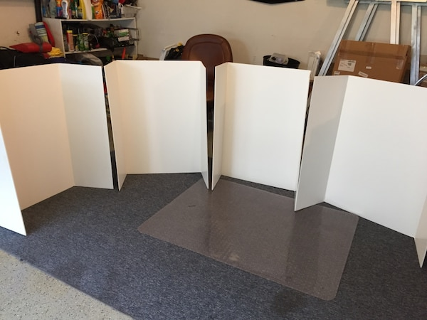 4 Tri fold presentation boards Great for school projects