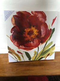 red and yellow petaled flower painting Richmond, 94805