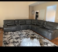 Leather sectional couch  Long Beach, 90807