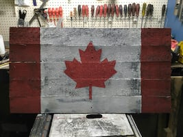 Canada flag indoor outdoor decor