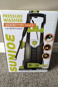 Brand New 2000 PSI Pressure Washer For Sale London
