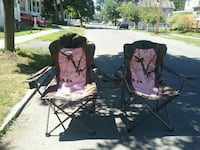 2 lawn chairs for sale 50  Rensselaer, 12144
