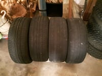 Used All Season Tires on steel rims Brampton, L6Y 0C9