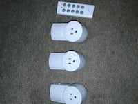 3 remote controlled power outlets Calgary, T2K 4Y9