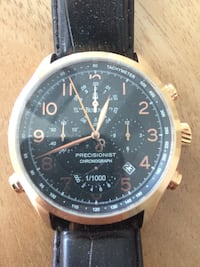 Rose gold bulova. precisionist chrono. no box - just the watch. No papers.