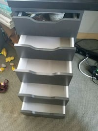 Grey drawers for desk or office Seattle, 98102