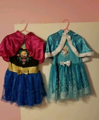 Disney frozen dresses Miami, 33186