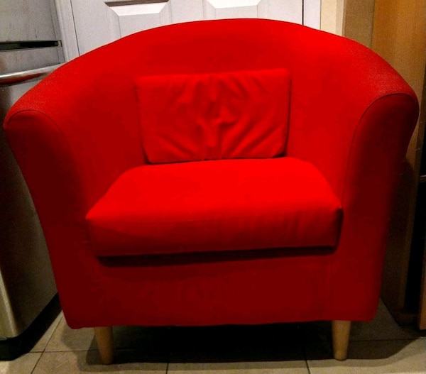 Red Fabric Chair
