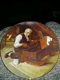 Norman Rockwell certified collectors plate Dover, 19901