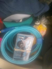 Air Brush Paint kit, with hose and paint Hamilton