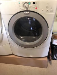 White front load dryer  Wanaque, 07465