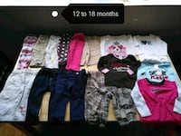 toddler's assorted clothes Mississauga, L5G