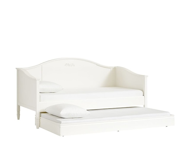Used Pottery Barn Madeline Daybed W/ Trundle Bed For Sale