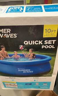 Inflatable swimming pool 10ft x 30in