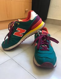 New Balance originales en perfecto estado. Multicolor. Número 39.