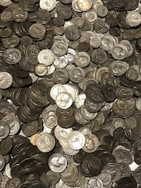 Junk silver US coins 90% 13 on the dollar New York, 11102