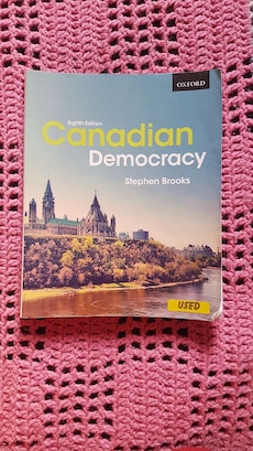 Canadian Democracy Eighth Edition by Stephen Brooks
