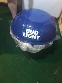 Bud light charcoal grill never used Montoursville, 17754