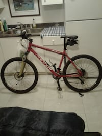 Khs alite 500 hydraulic brakes like new condition.